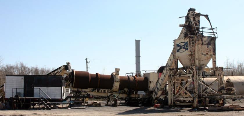 Inter-Ontario Equipment Rental and Repair Asphalt